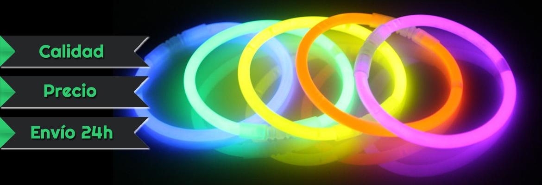 comprar pulseras fluorescentes