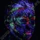 Pintura Neon con Purpurina 10 ml