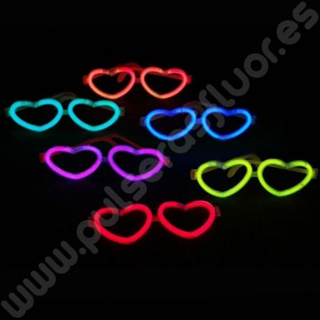 Gafa Luminosa Corazón Granel