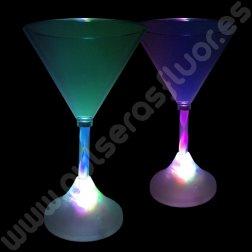 Copa con Luz Martini