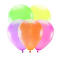 5 Globos Color Neón