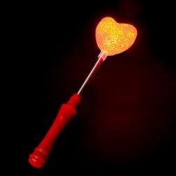 Varita de Corazón Luz Led Intermitente