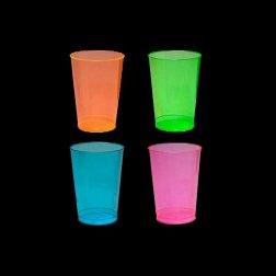 Vaso de Refresco con Luz Neon UV (50 unidades)