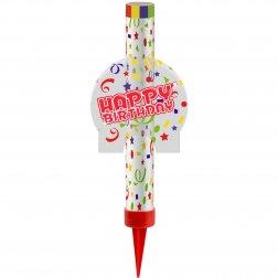 Bengala de Fuente Happy Birthday