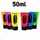 Pintura Fluorescente Corporal 50 ml