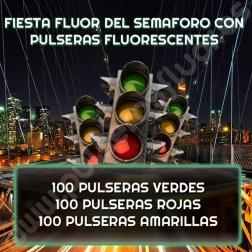 Fiesta Fluor del Semáforo con Pulseras Luminosas